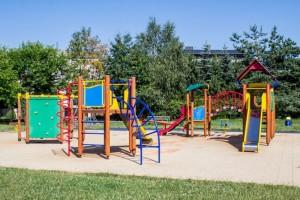 bezpečná obec - dětské hřiště